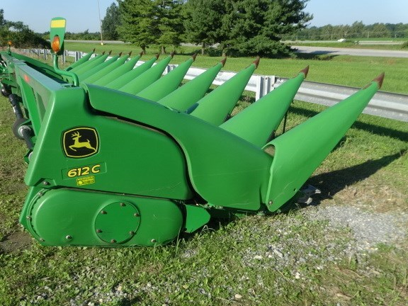 2009 John Deere 612C Header-Corn For Sale