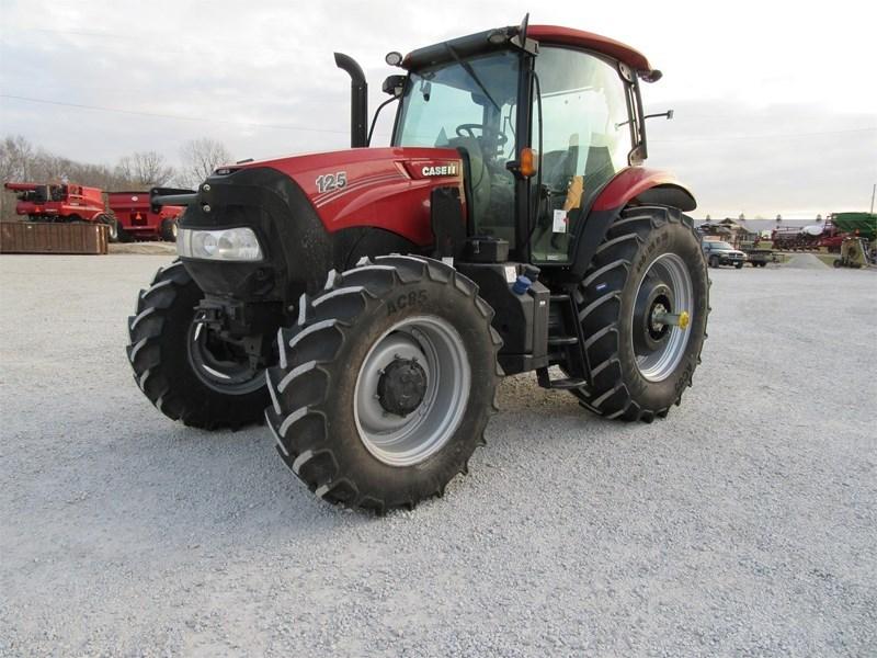 2017 Case IH MAXXUM 125 Tractor For Sale