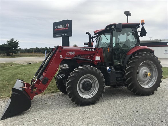 2017 Case IH MAXXUM 135 Tractor For Sale