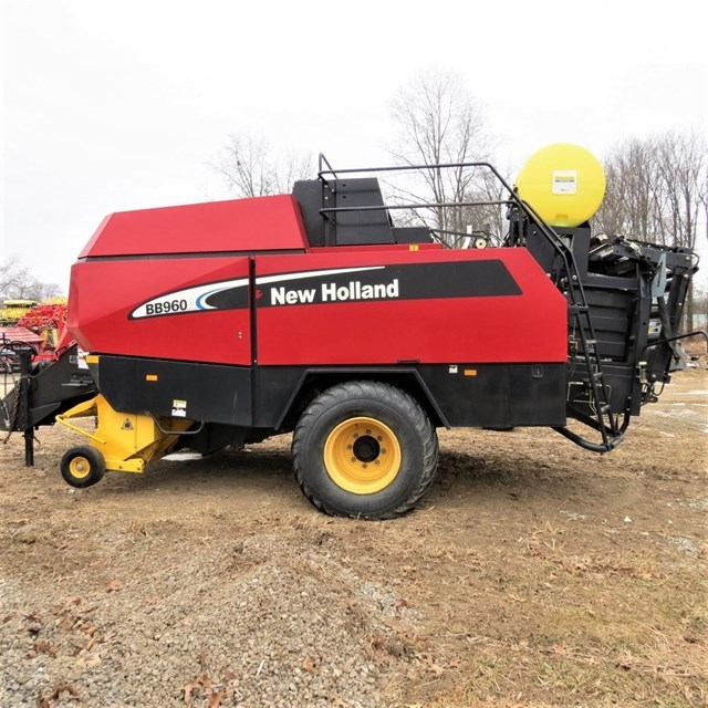 2007 New Holland BB960AS Baler-Square For Sale