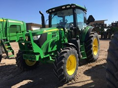 Tractor For Sale 2016 John Deere 6110R , 110 HP