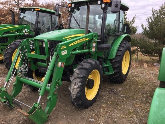 2011 John Deere 5101E Tractor For Sale