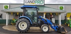 Tractor - Compact Utility For Sale 2014 New Holland Boomer 3045 CVT Cab , 45 HP