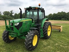 Tractor For Sale 2017 John Deere 6110M , 110 HP