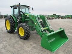 Tractor For Sale 2016 John Deere 6135E , 135 HP