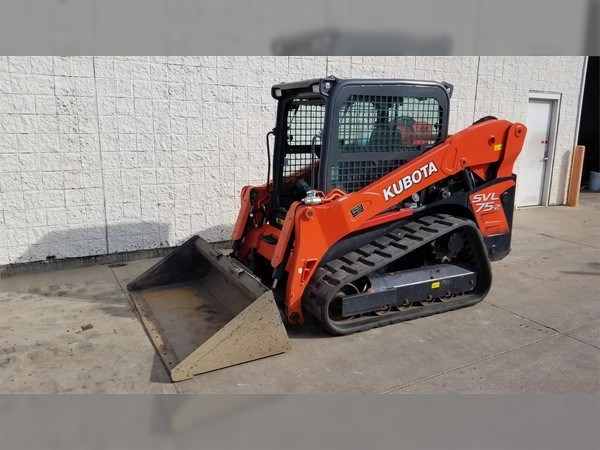 2016 Kubota SVL75-2 Skid Steer-Track For Sale