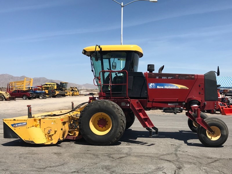 2013 New Holland H8060 Windrower-Self Propelled For Sale