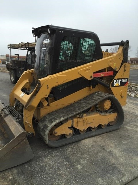 2014 Caterpillar 259D Skid Steer-Track For Sale