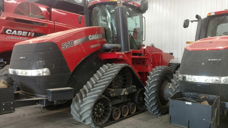 2012 Case IH Steiger 550 Quadtrac Tractor For Sale