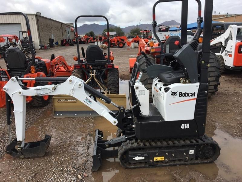 Bobcat 418 T4 Excavator-Track