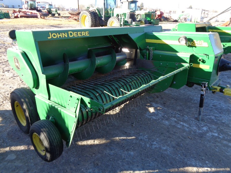2011 John Deere 348 Baler-Square For Sale