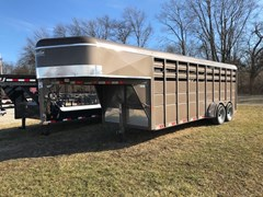 Stock Trailer For Sale 2017 Delta Manufacturing GNS500