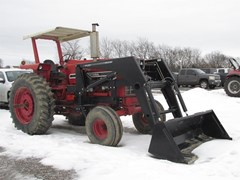 Tractor For Sale 1973 International 1466 , 145 HP
