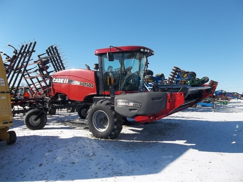 2015 Case IH WD1504 Windrower-Self Propelled For Sale
