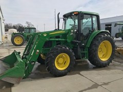 Tractor For Sale 2012 John Deere 6430 , 120 HP