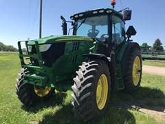 Tractor - Row Crop For Sale 2017 John Deere 6155R , 155 HP