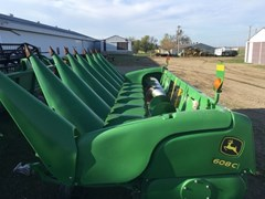 Header-Corn For Sale:  2014 John Deere 608C
