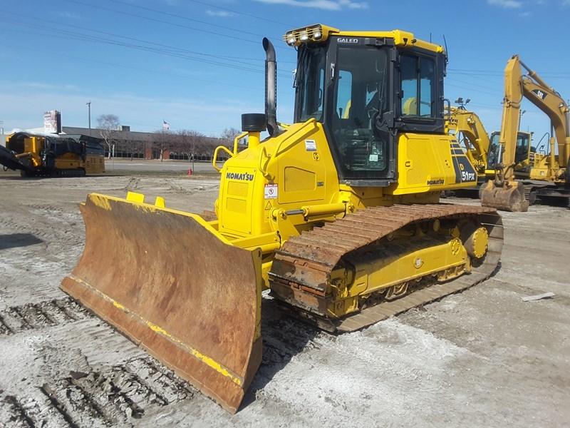 2008 Komatsu D51PX-22 Crawler Tractor For Sale