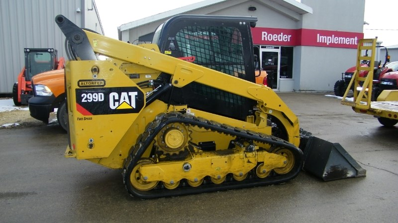 2015 Caterpillar 299D Skid Steer-Track For Sale