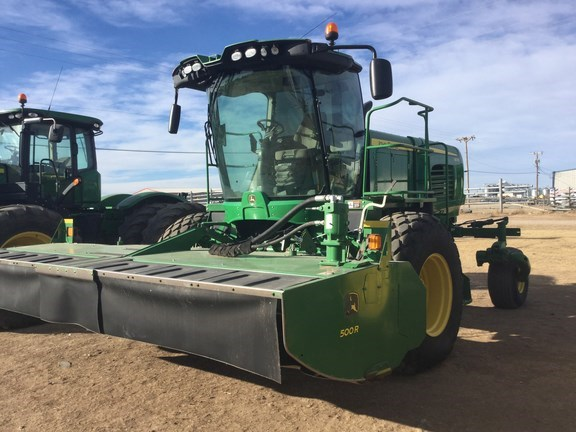 2015 John Deere W235 Windrower For Sale