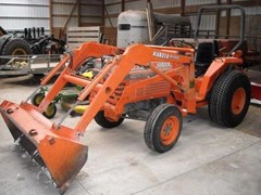Tractor For Sale 1986 Kubota L2550 , 29 HP