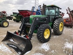 Tractor For Sale 1989 John Deere 4055 , 106 HP
