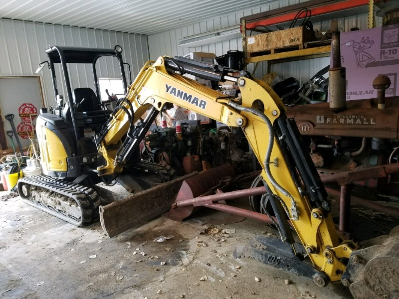 2013 Yanmar VIO35-6 Excavator-Mini For Sale