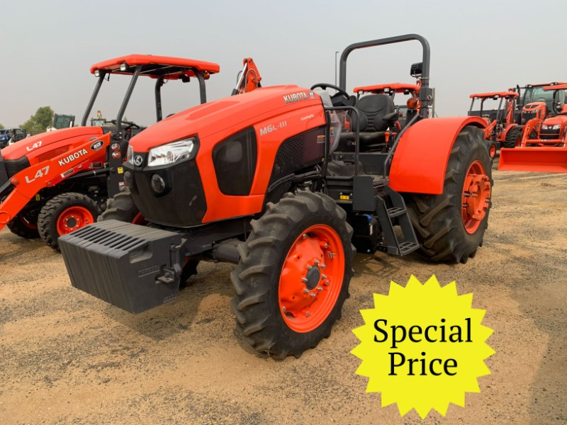 2018 Kubota M6L.111 Tractor For Sale