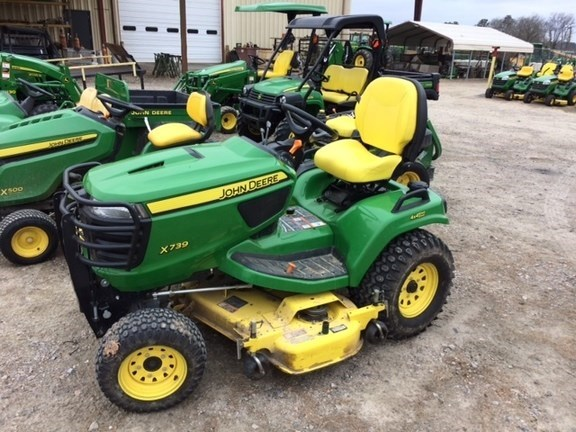 2014 John Deere X739 Riding Mower For Sale
