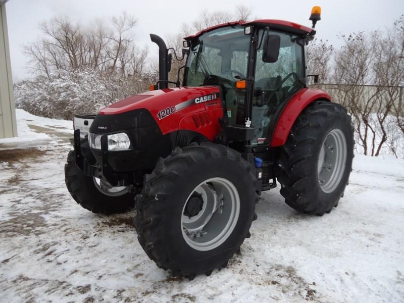 2017 Case IH 120C Farmall Tractor For Sale
