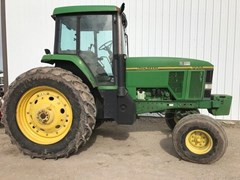 Tractor For Sale 1992 John Deere 7600 , 110 HP
