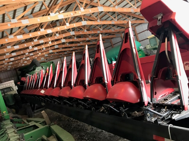 2012 Case IH 3416 Header-Corn For Sale