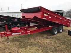 Dump Trailer For Sale 2017 Diamond C 250OD