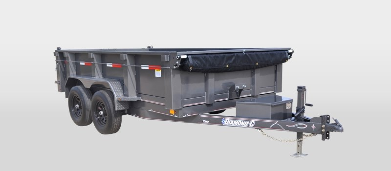 2017 Diamond C 46ED Dump Trailer For Sale
