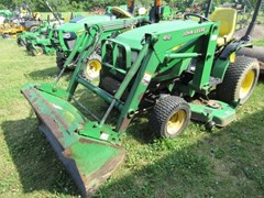 Tractor - Compact Utility For Sale 2003 John Deere 4010 , 20 HP