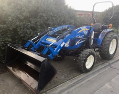 Tractor For Sale:  2014 New Holland Boomer 50 , 50 HP
