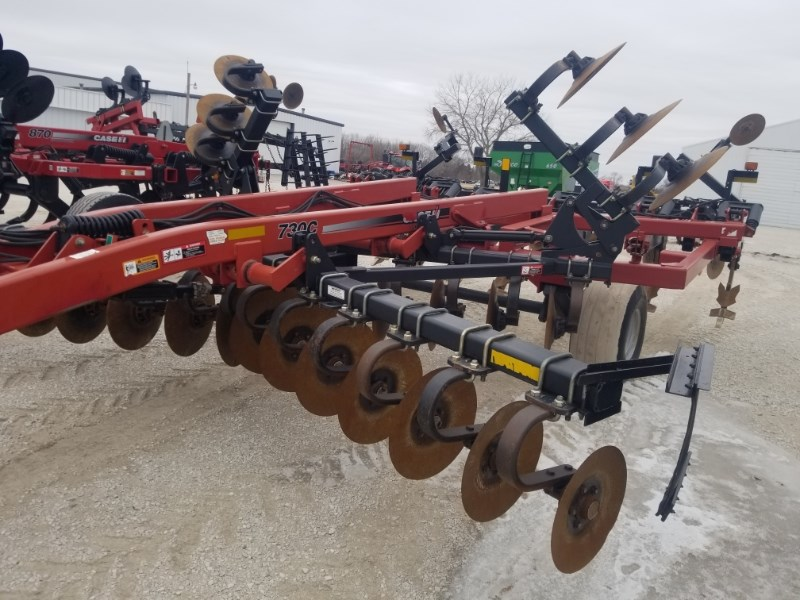 2007 Case IH 730C Disk Ripper For Sale