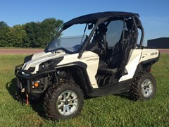 Utility Vehicle For Sale 2014 Can-Am 2014 COMMANDER 1000 LTD WHITE SKU # 6GEA