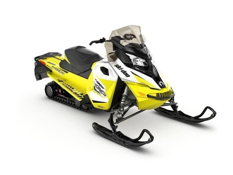 2018 Ski-Doo 2018 MXZ TNT 600 E-TEC WHT/YEL SKU # UEJA Snowmobile For Sale