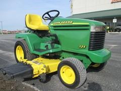 Riding Mower For Sale:  2000 John Deere 325 , 18 HP