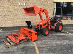 Tractor For Sale:  2014 Kubota B2620HSD