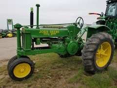 Tractor For Sale 1939 John Deere B , 18 HP