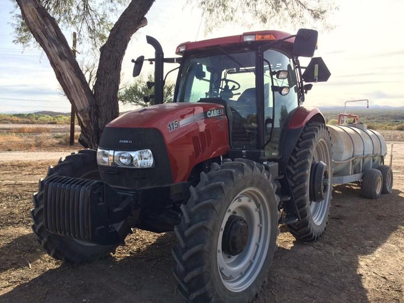2015 Case IH MAXXUM 115 Tractor For Sale
