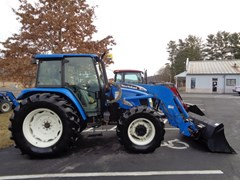 Tractor For Sale 2006 New Holland TL100A , 100 HP