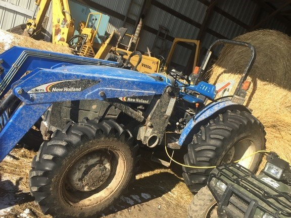 2007 New Holland TT75A Tractor For Sale