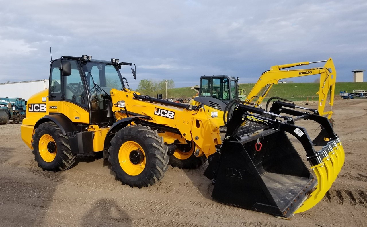 2018 JCB TM320 Loader For Sale