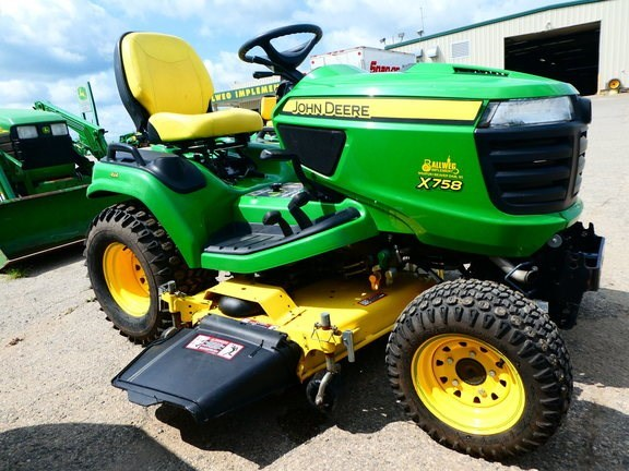John Deere X758 Riding Mower For Sale