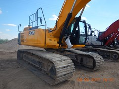 Excavator-Track  2017 JCB JS370LC