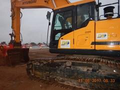 Excavator-Track  2017 Hyundai HX300