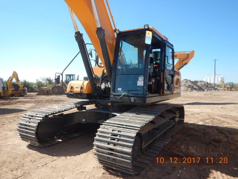 2017 Hyundai HX300L Excavator-Track